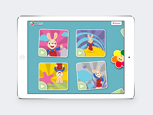 Baby First TV - Video application on Behance