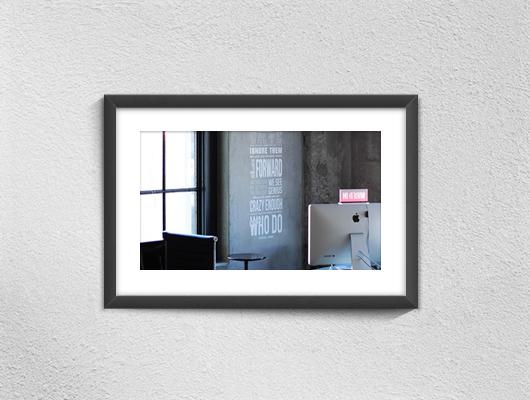 Psd / Vector Free Poster Frame Mock-ups on Behance