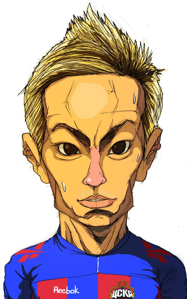 рисунки футболиста цска самых громких