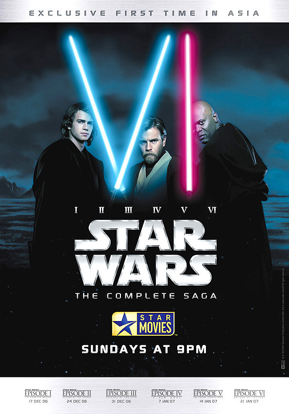 star moviesstar wars the complete saga ad campaign 12 on
