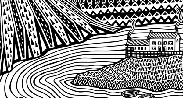 Line Quality In Art : Black & white on behance