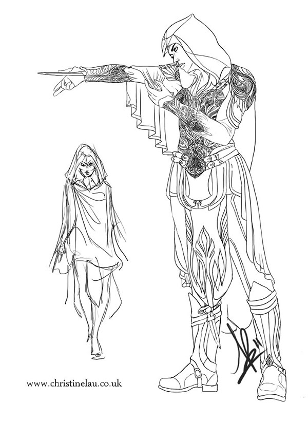 sketches sketchbook concept art