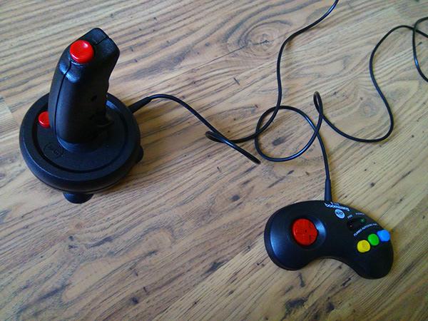 Matt joysticks