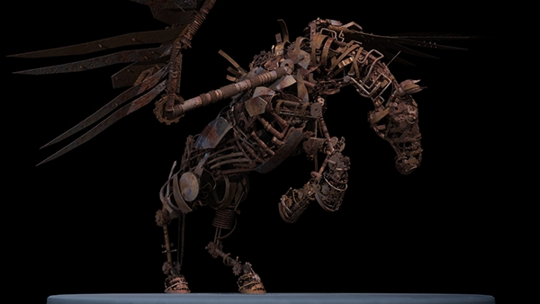 Mechanical Horse 3D Model on Behance