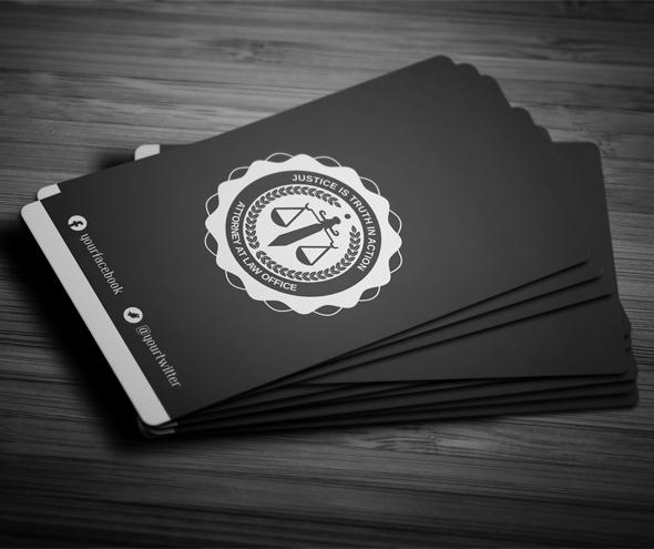creative lawyer business card  4 on behance