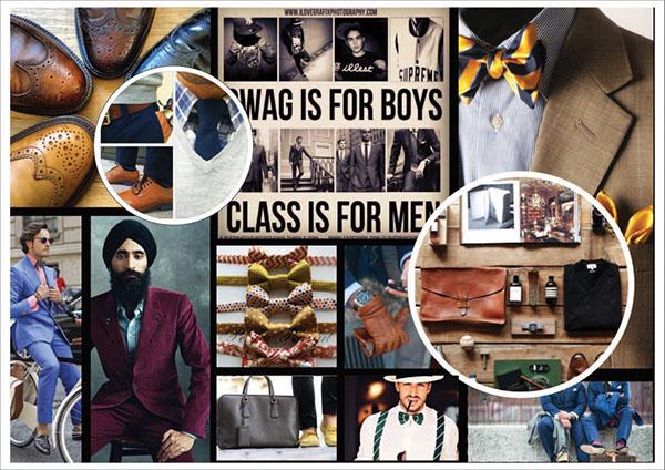 Menswear Consumer Profile Mood Board On Behance