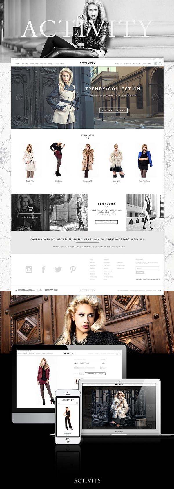 Clothing Ecommerce model