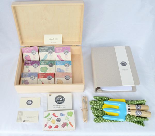 home grown seed kit on pantone canvas gallery. Black Bedroom Furniture Sets. Home Design Ideas