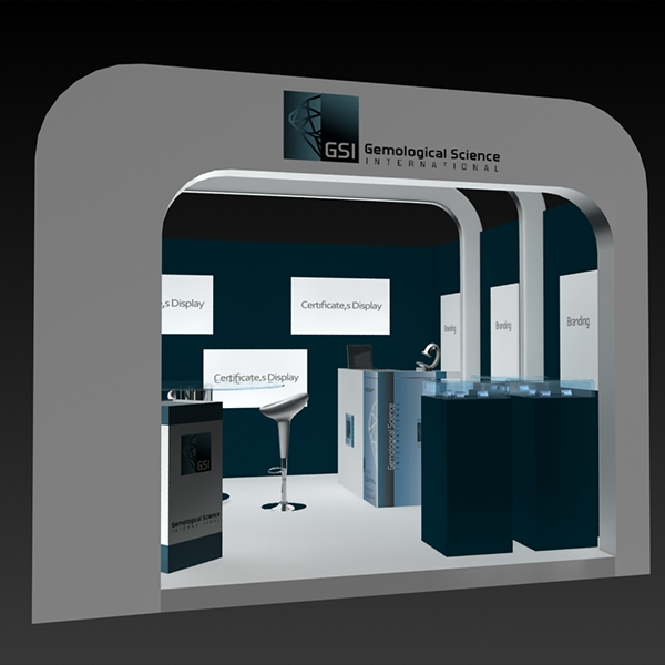 Jewellery Exhibition Stall Design : Exhibition stall on behance