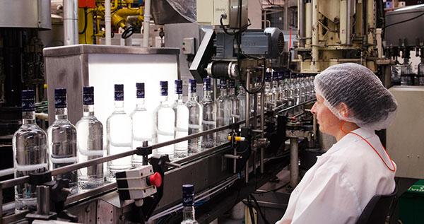 industria destilado Vodka
