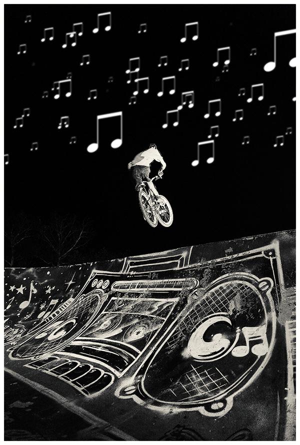 Bike freeride sound