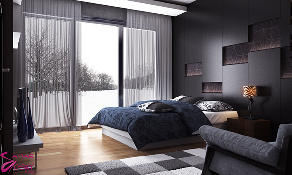 Bedroom Interior Design 3ds Max