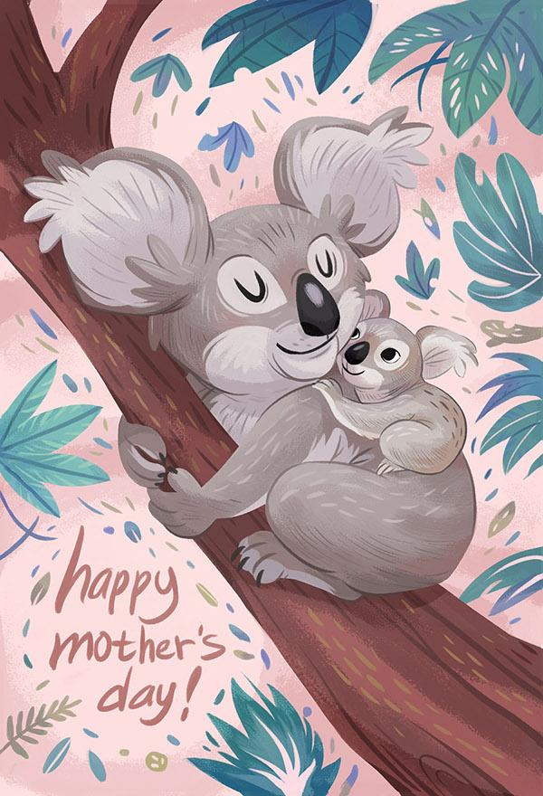Картинки на день матери животных