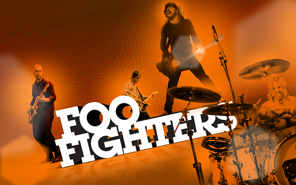 Foo Fighters Wallpaper On Behance