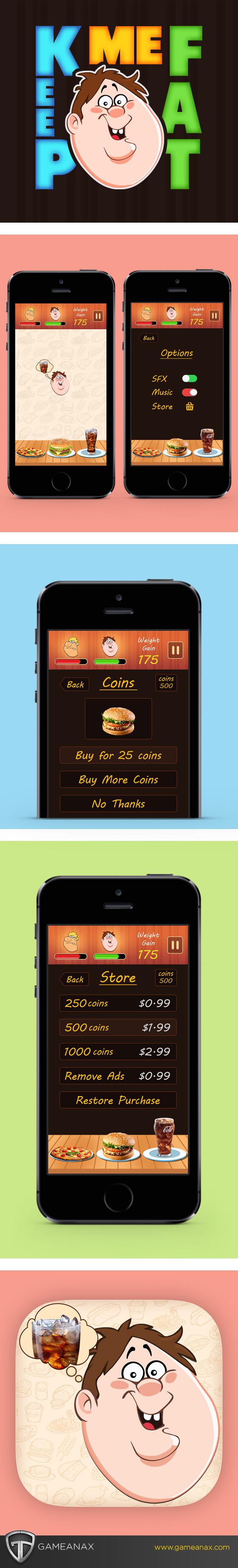 UI ux game graphics