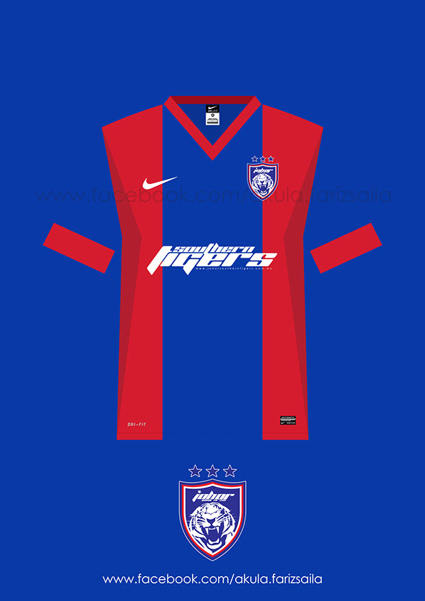 fc16d384a Johor Darul Takzim 2014 Nike Kit on Behance