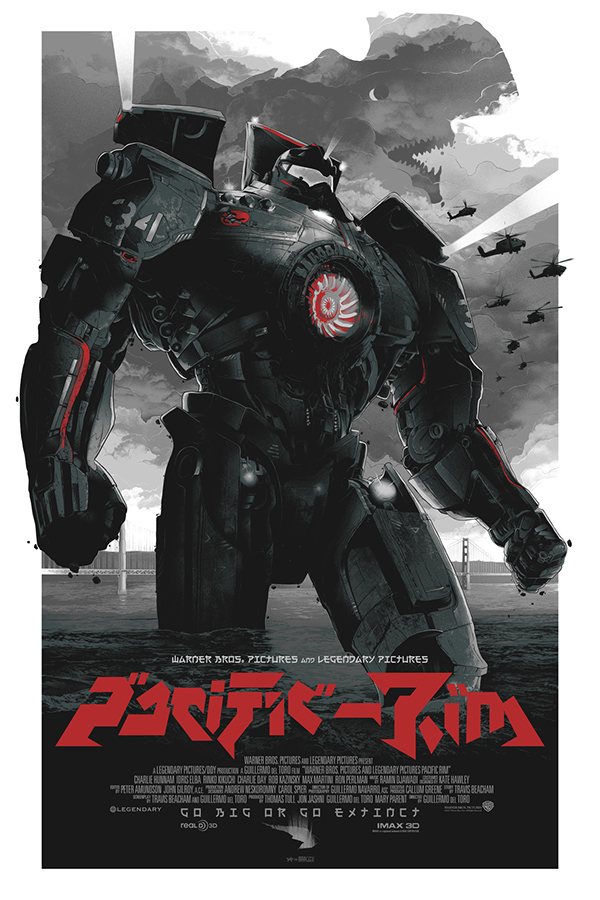 Fargo taxi driver Bullitt predator inception Pacific Rim movie poster print portrait Gabz Grzegorz Domaradzki