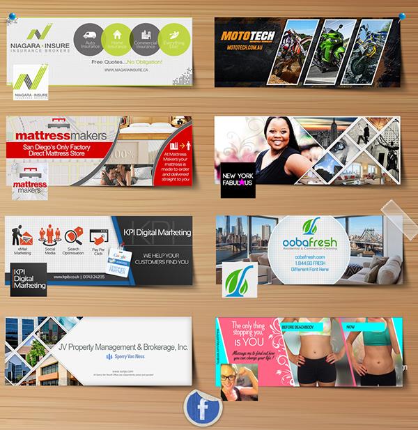 Multiple Facebook Cover Design on Behance