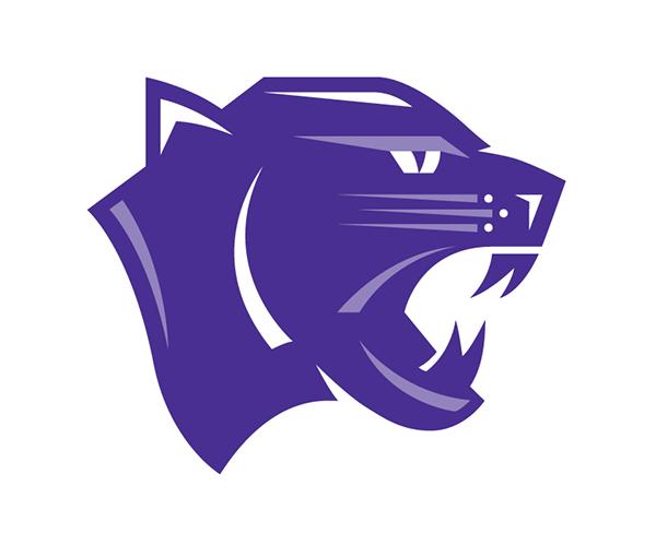 Panther School Logo School Lacrosse Team Logo