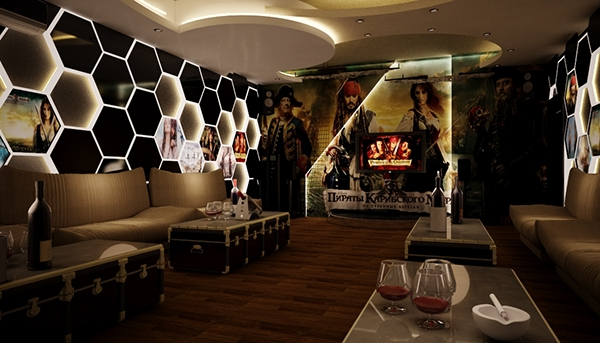 The karaoke real design on behance for Karaoke room design ideas