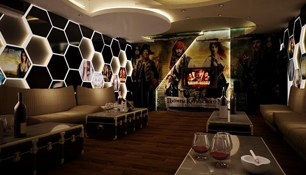 The karaoke real design on behance for Design room karaoke