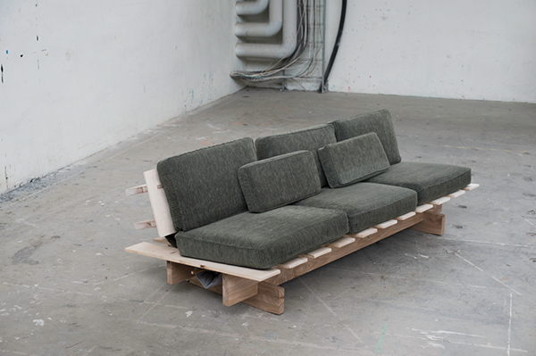 Sleeping sofa prototype 1 on behance for Sofa bed 140 x 200