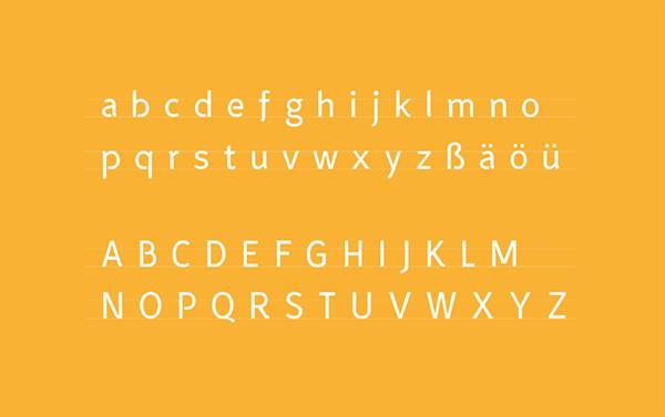 fontdesign Smooth Sans Pascal Schmidt schmydt typedesign sans serif grotesk font body text stencil