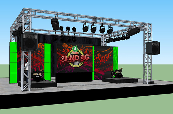 Booth Amp Stage Design On Behance