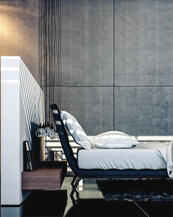 Luxury Master Bedroom Dubai On Behance: MASTER BEDROOM SUITE DOHA On Behance