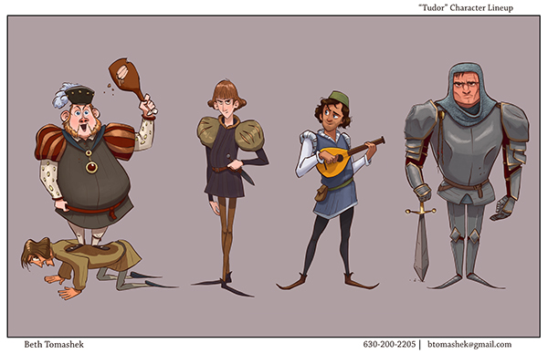 Animation Character Design Portfolio : Visual development portfolio on ringling portfolios