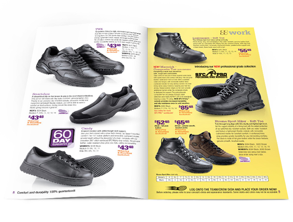 Rss. Shoes For Crews is an online shop specializing in work shoes and accessories for women and men at an affordable price. This shop offers a large selection of work boots, clogs, dress shoes, athletic shoes, casual styles.