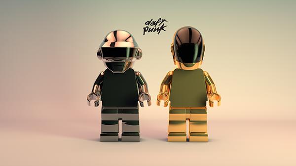 LEGO planea lanzar figuras de Daft Punk