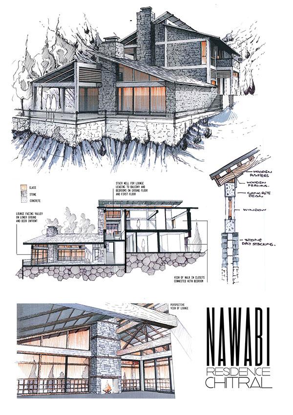 professional architecture portfolio on behance. Black Bedroom Furniture Sets. Home Design Ideas