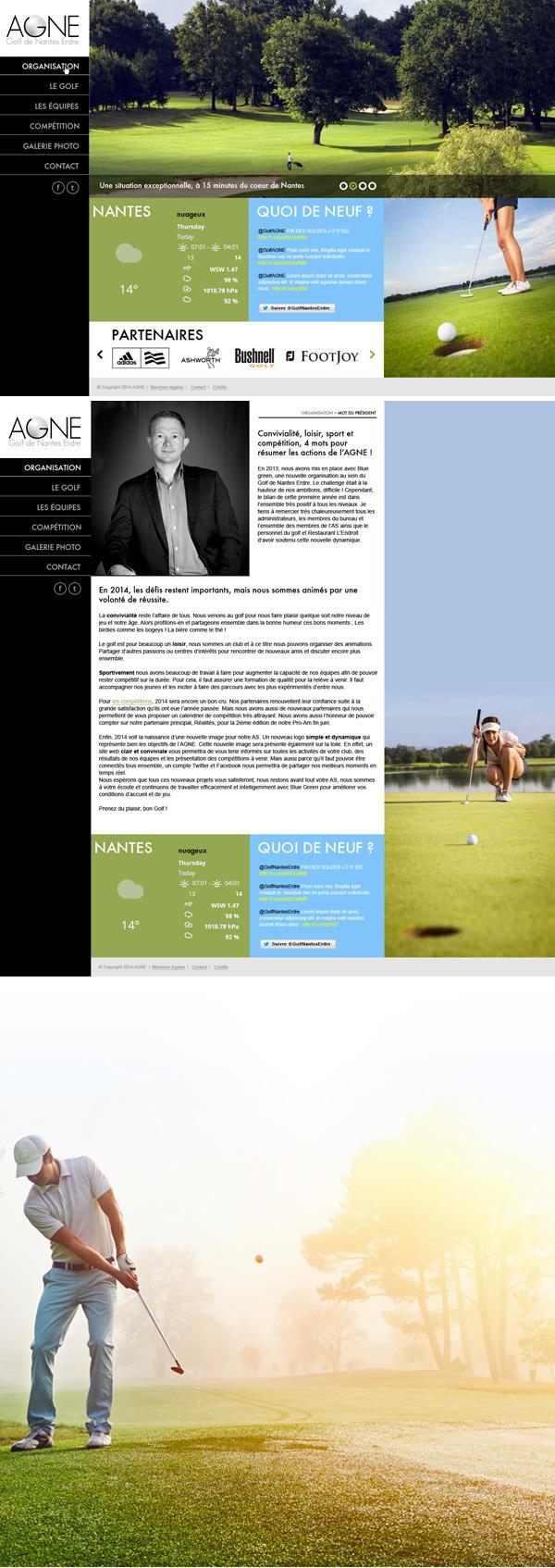 direction artistique Webdesign