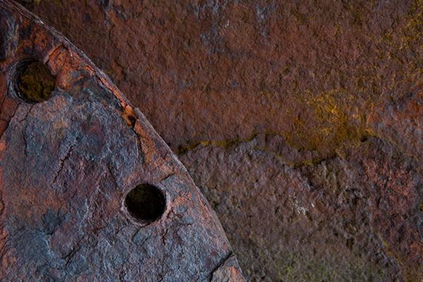 close-up rust Färöer