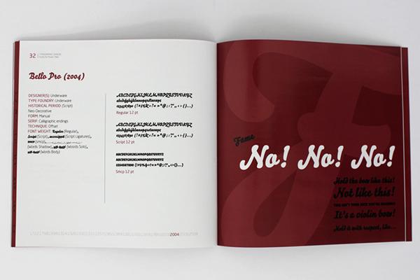 catalog typo typographic tipografia font letras movie Filmes caracteres catalogo grafico