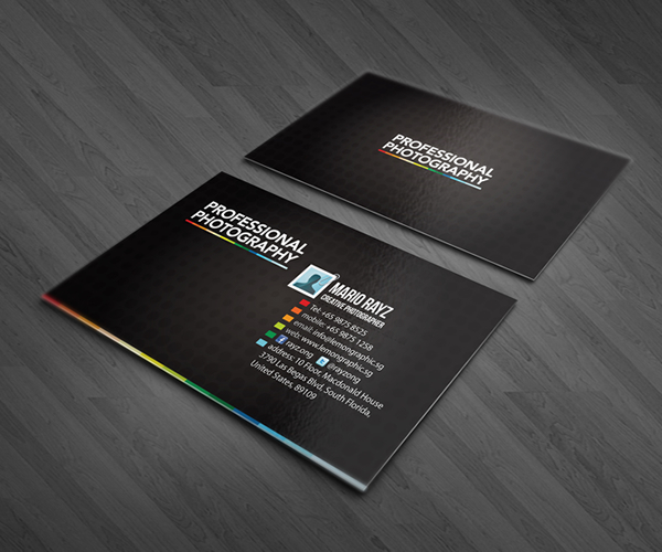 Professional photographer business cards on behance two series of minimalistic business card for photographer or even videographer for more business card design please visit lemongraphic reheart Images