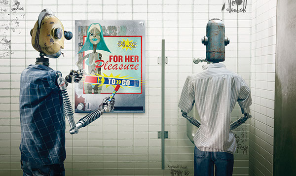 WD40 Robots by Chris Titze