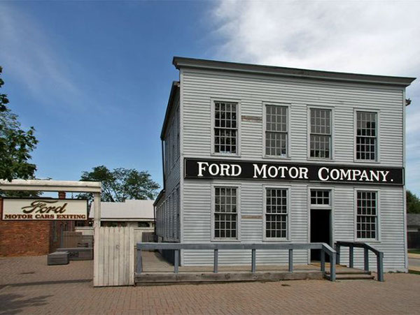 Ford stories the model t test drive on behance for Ford motor co dearborn mi