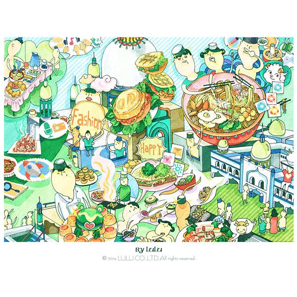 Tianjin food「Tianjin stomach」-by lulu on Behance