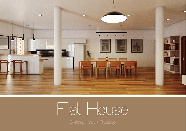 The Flat House Design For Second Floor In Phnom Penh On Behance