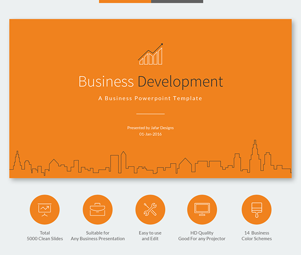 Business development powerpoint template on behance cheaphphosting Gallery