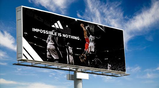 adidas basketball ad Derrick Rose NBA LeBron LeBron James adobe photoshop