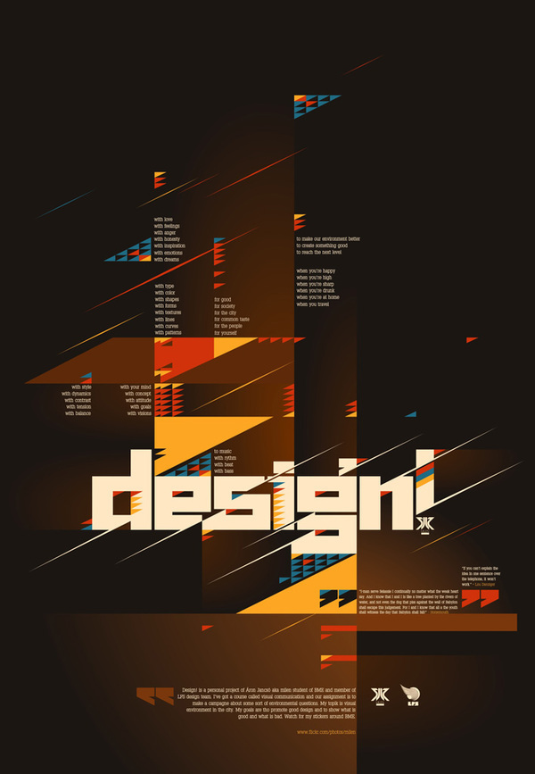 poster graphic typo type Poster Design experimental Playful