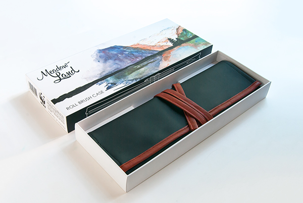 meadow land natural Nature brush animail Canada tail case box watercolor artist premium Deluxe