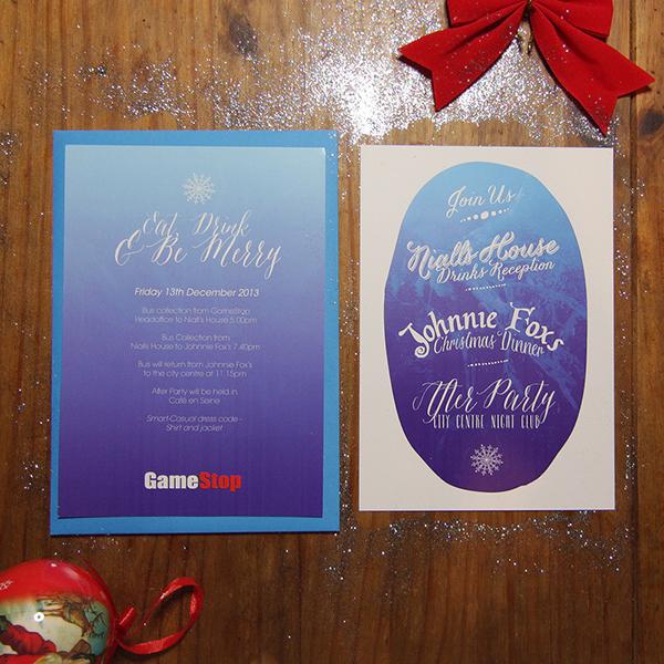 christmas party Invitation invites party invitation christmas party invitation mmmtaine Taine King GameStop