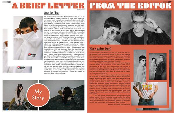 ModernThrift - Magazine Design