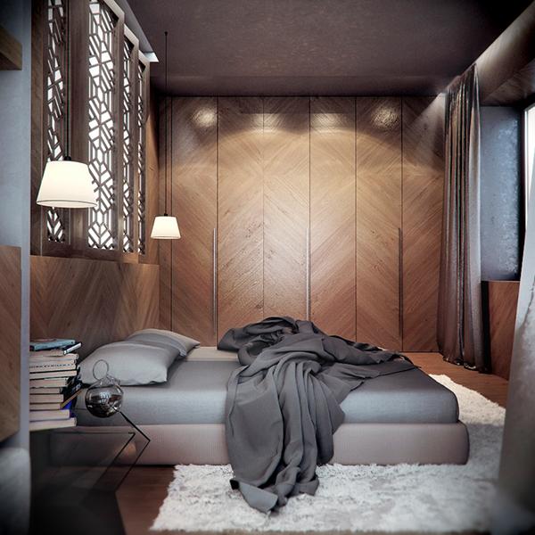 DARVINA Apartments interior on Behance