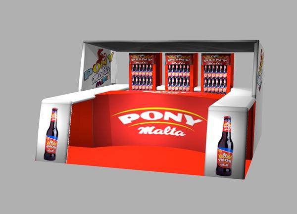 beverage Stands exhibition Design