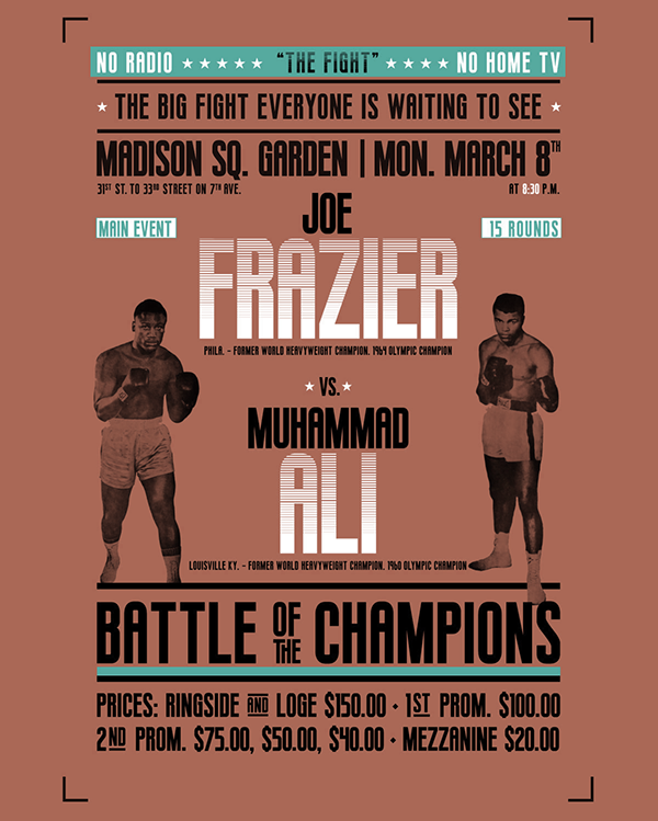 BOXING | Free Font on Student Show